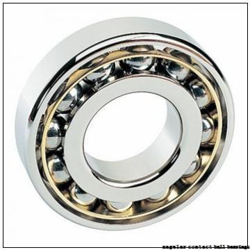 55 mm x 100 mm x 21 mm  FAG B7211-E-2RSD-T-P4S angular contact ball bearings