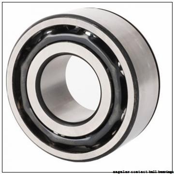 30 mm x 55 mm x 19 mm  FAG 3006-B-2RSR-TVH angular contact ball bearings