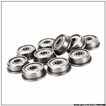 34,925 mm x 72 mm x 42,9 mm  KOYO ER207-22 deep groove ball bearings
