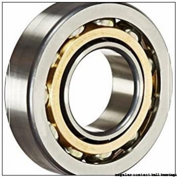 35 mm x 66 mm x 32 mm  Fersa F16022 angular contact ball bearings
