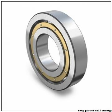35 mm x 72 mm x 17 mm  Fersa 6207-2RS deep groove ball bearings